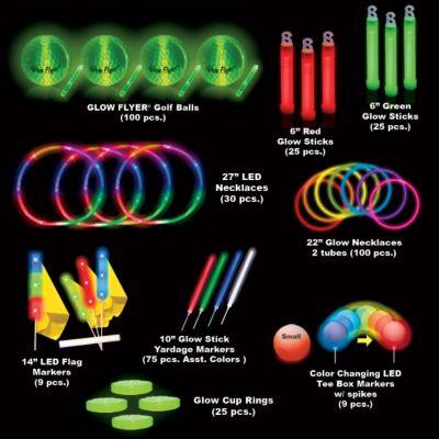 Economy 60 Player Glow Flyer Fairway Tournament Package GF.FRW