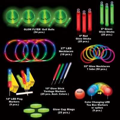 Economy 36 Player Glow Flyer Tee Off Tournament Package GF.TOP