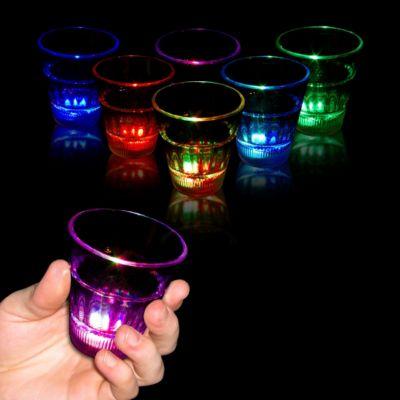 LED Rainbow Shot Glass - 2oz LIT040EA