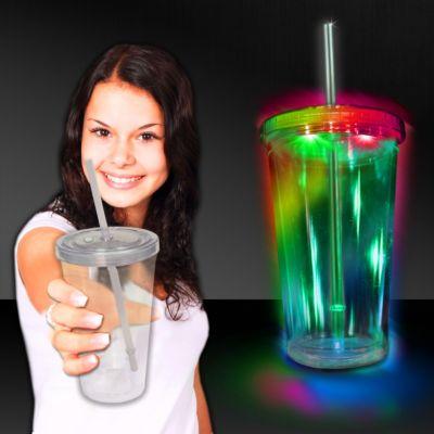 LED Double Wall Cup - 16oz LIT795EA