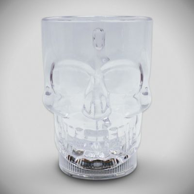 LED Skull 14oz Cup LIT800EA