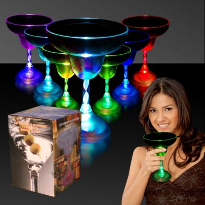 LED Margarita Glass - 10oz LIT805EA