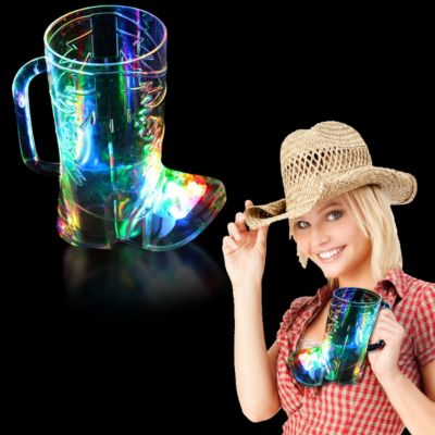 LED Boot Shape Cup-16oz LIT884EA