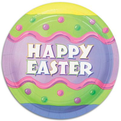 Happy Easter Plates 9