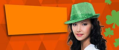 Check out our wide variety of Hats & Headwear just for St. Patrick's Day