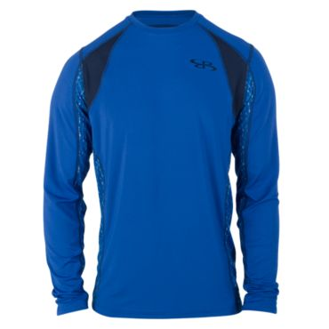 Men's Noble Stranded Print L/S Training Tee Shirt