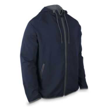 Men's Radius Woven Full Zip Hooded Jacket