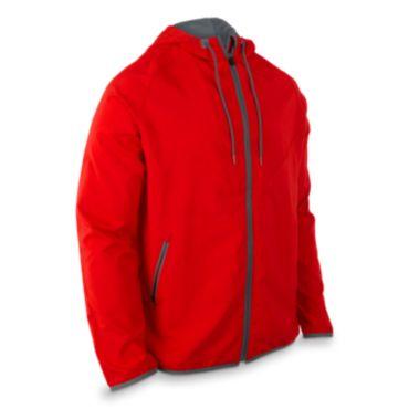 Men's Radius Woven Full Zip Hooded Jacket
