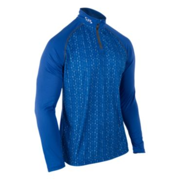Men's Static Branded Quarter Zip Pullover