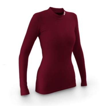 Women's Compression Cool Mock Long Sleeve