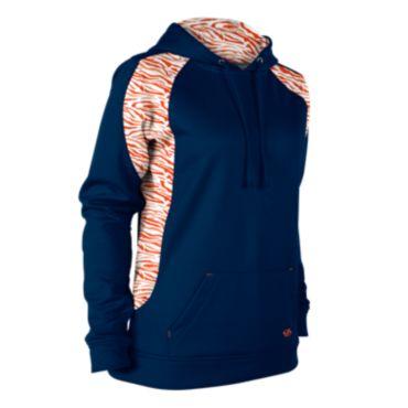 Women's Explosion Fleece Tiger Stripe Hoodie
