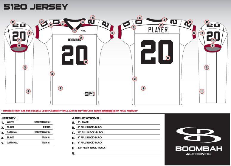 Boombah - Football Premier Authentic Uniforms
