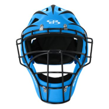 DEFCON 2.0 Rubberized Matte Hockey Style Catchers Helmet