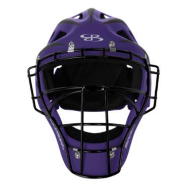 DEFCON 2.0 Rubberized Matte Hockey Style Catchers Helmet