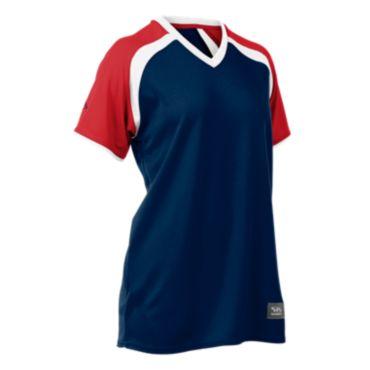 Women's Prodigy Short Sleeve V-Neck Fastpitch Jersey