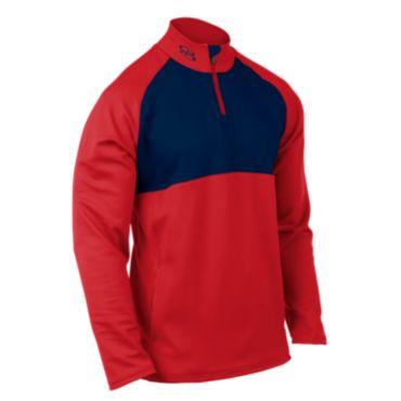 Men's Thermal Quarter Zip Pullover