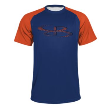 Men's B-Logo Bevel Short Sleeve Shirt