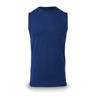 Men's Solid Tru Tech Sleeveless Tee