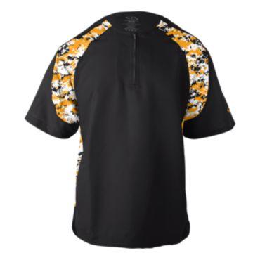 Men's Short Sleeve Explosion Pullover Camo