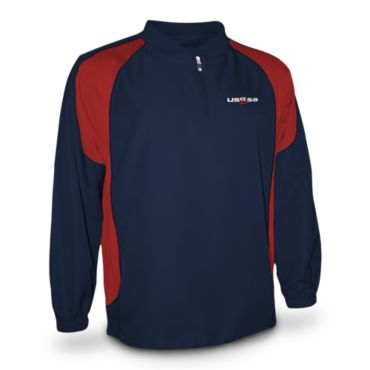 Men's USSSA Long Sleeve Explosion Pullover
