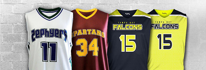 Boombah Basketball Full Dye Banner