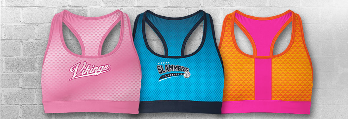Custom Womens Ink Sports Bra Banner