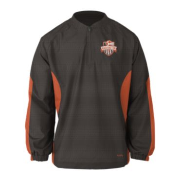 Custom Sublimated Prime Tech Woven 1/4 Zip LS Pullover 1007
