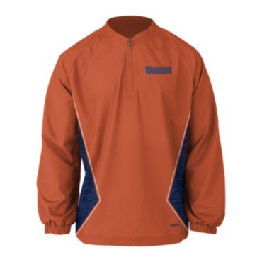 Custom Sublimated Prime Tech Woven 1/4 Zip LS Pullover 1009