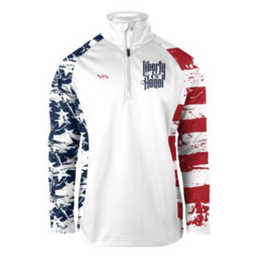 Liberty and Honor USA INK Quarter Zip Pullover
