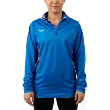 Women's Ink Loose Fit Quarter Zip Pullover