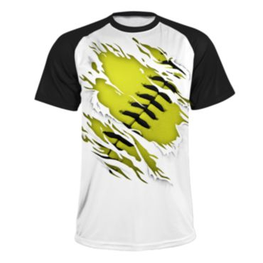 Men's INK Ball Game Short Sleeve Shirt