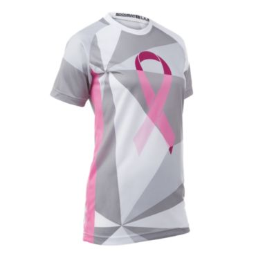 Women's Breast Cancer Awareness INK Raglan Short Sleeve Shirt