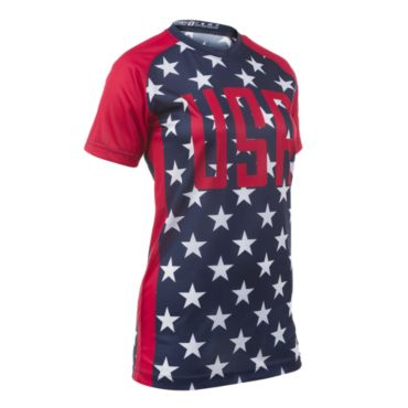 Women's USA INK Raglan Short Sleeve Shirt