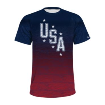 Men's USA Short Sleeve Shirt 3022