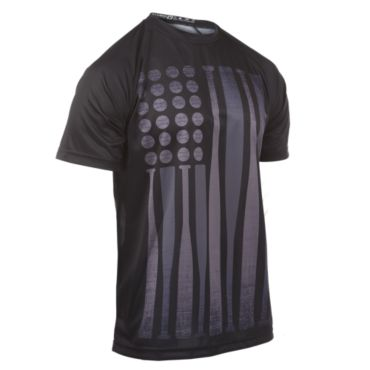 Men's USA Black Ops Bat Flag INK Short Sleeve Shirt