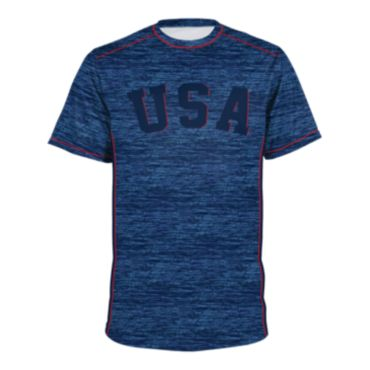 Men's USA Short Sleeve Shirt 3004