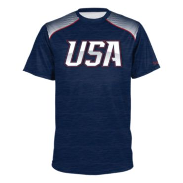 Men's USA Short Sleeve Shirt 3013