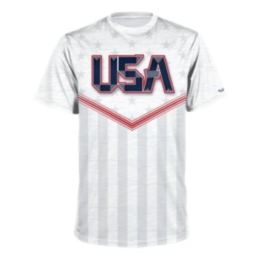 Men's USA Short Sleeve Shirt 3015