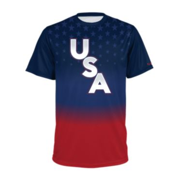 Men's USA Short Sleeve Shirt 3016