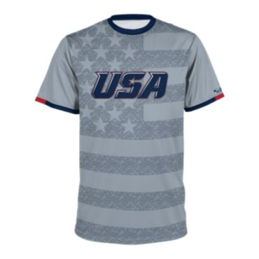 Men's USA Short Sleeve Shirt 3018