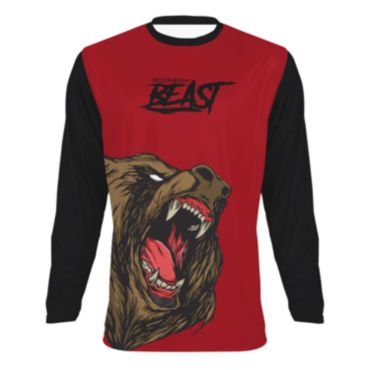 Youth Beast Bear Long Sleeve T-Shirt