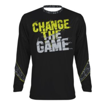 Youth Change the Game Long Sleeve T-Shirt
