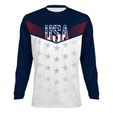 Men's Salute USA INK Long Sleeve T-Shirt