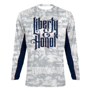 Men's USA Liberty & Honor INK Long Sleeve Shirt