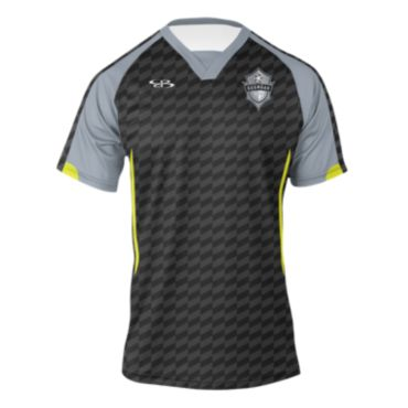 Men's Branded Soccer Jersey Triangle V-Neck