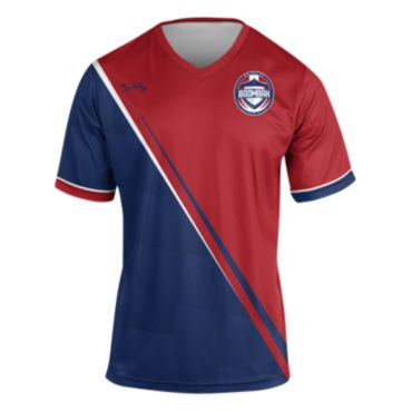 Men's Branded Soccer Jersey V-Neck