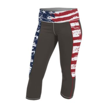 Women's USA INK Circuit Capri