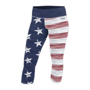 Women's USA INK Circuit Capri 3007
