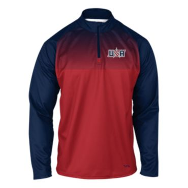 Men's USA Speed Quarter Zip Pullover