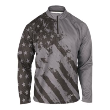 Men's USA INK Quarter Zip Pullover 3005